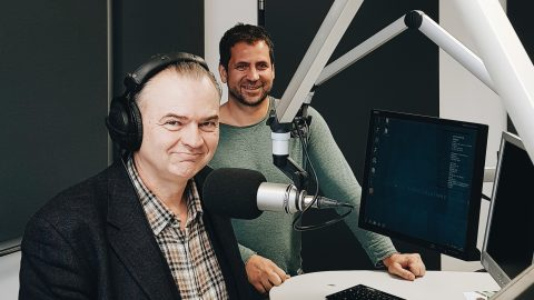 Radio Interview on Radio Franken