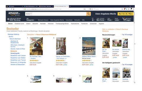 #3 on Amazon!