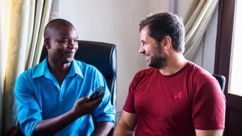 Interview on National Radio of Burundi