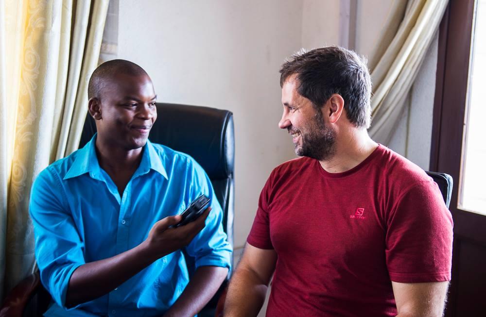 Michael Runkel, Burundi, Radio Interview, Africa, Travel Photographer