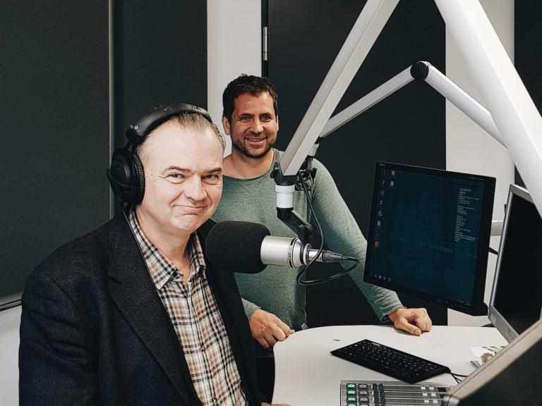 Interview on Radio Franken