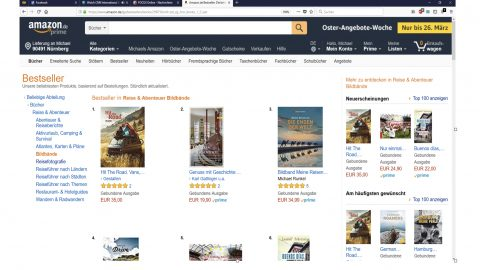 #3 Photography Books on Amazon!