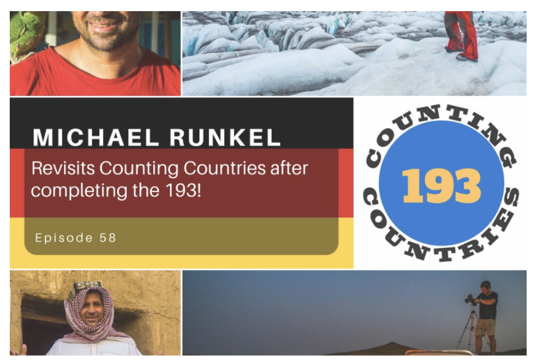 Podcast with Counting Countries