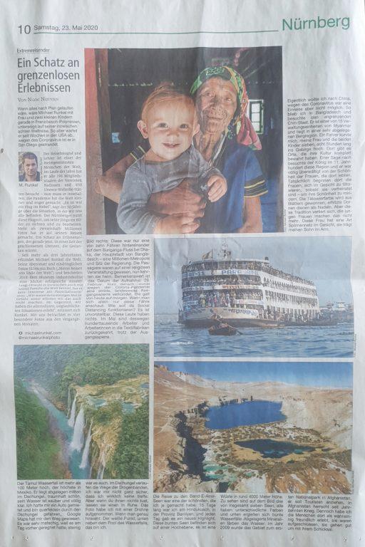 Nürnberg Nachrichten Page