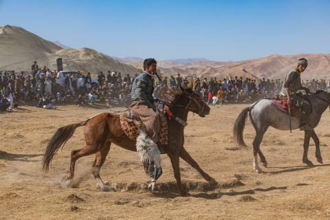 Buzkashi: Afghanistan's National Sport