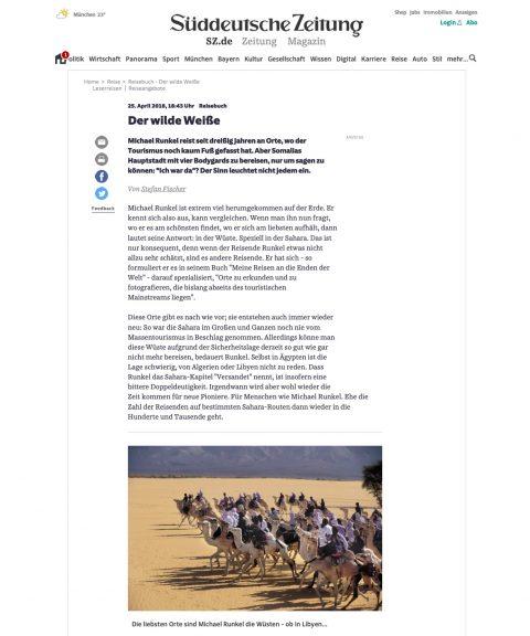 Another Feature in Süddeutsche Zeitung