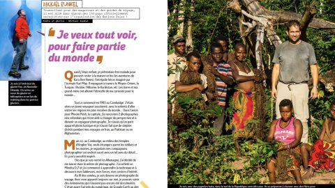 Feature with French Magazine GEO Ado
